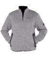 Bjornson fleece trui grijs
