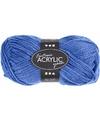 Blauw acryl garen 80 meter