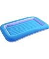 Blauw luchtbedje voor peuters