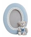 Blauwe fotolijst beer 11 x 14 cm