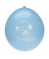 Blauwe geboorte ballonnen voor jongens