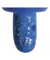 Blauwe glitter textielstift