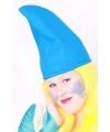 Blauwe kaboutermuts 57 cm