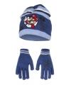 Blauwe mario winterset voor kinderen