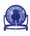 Blauwe mini usb ventilator