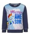 Blauwe my little pony sweater voor meisjes