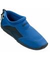 Blauwe neopreen surf en waterschoen voor dames