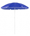 Blauwe parasol van nylon