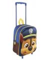 Blauwe paw patrol trolley