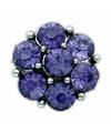 Blauwe steentjes chunk 1 8 cm