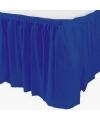 Blauwe tafelrok