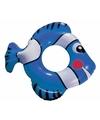 Blauwe vis zwemband 79 cm