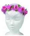 Bloemen haarband roze fairy