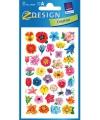 Bloemen stickers 2 vellen