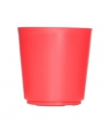 Bloempot rood 16x16 cm
