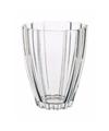 Bloemvorm vaas helder glas 17 cm