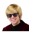 Blonde duitse heren pruik