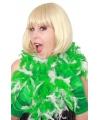 Boa wit met groen 180 cm
