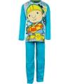 Bob de bouwer pyjama turquoise