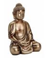 Boeddha beeld brons 36 cm