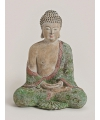 Boeddha beeld bruin groen 30 cm
