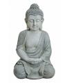 Boeddha beeld grijs 47 cm