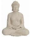 Boeddha beeld marmer look 29 cm