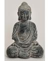 Boeddha beeld zwart 56 cm
