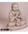 Boeddha beeldje mediterend 35 cm