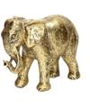 Boeddha theelichthouder grijs 27 cm