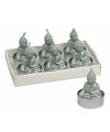 Boeddha theelichtje mint