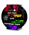 Bondage tape zwart