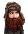 Bontmuts met bruine baard