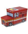 Brandweerauto opbergbox 55 cm