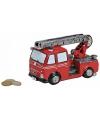 Brandweerwagen spaarpot 16 cm