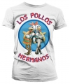 Breaking bad los pollos dames shirt wit