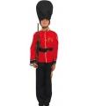 Britse soldaat kostuum voor kinderen