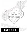 Bruiloft versiering pakket