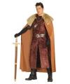 Bruin krijgsheer kostuum voor mannen