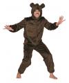 Bruine beren pak voor volwassenen