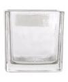 Budget theelichthouder glas 6 cm