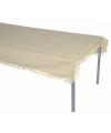 Buiten tafelkleed beige 180 cm