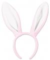 Bunny oren roze met wit voor volwassenen