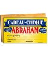 Cadeau cheque voor de abraham 20 x 34 cm