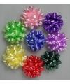 Cadeau mini strikjes gekleurd 10 st