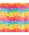 Cadeaupapier regenboog kleuren 70 x 200 cm