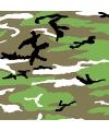 Camouflage bandana 54 x 54 cm