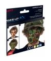 Camouflage schmink set