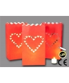 Candle bags love 3 stuks led