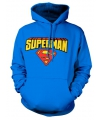 Capuchon sweater superman